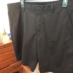 Black Greg Norman shorts